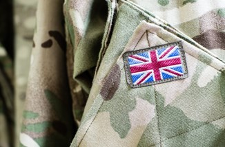 Union Jack On Army Uniform Istock Ikholdwadia