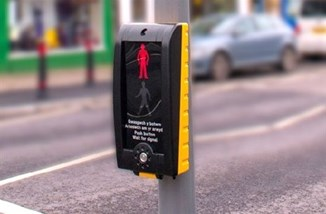 Touchless Pedestrian Crossing Rhonda Cynon Taf Council