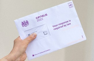 Census 2021 Envelope From Geoplace