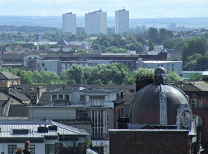 Glasgow rooftops - the East End by Thomas Nugent/Geograph.org.uk