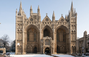 Peterborough Cathedral - West front, by Julian Dowse / Geograph.org.uk