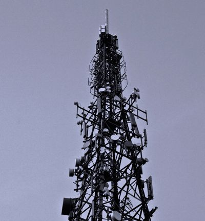Transmitter tower by Paul Clarke ©