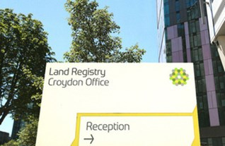 Land Reigstry sign
