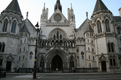 Royal Courts of Justice main entrance