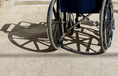 Wheels of wheelchair