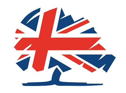 Conservative logo - Union Jack in shape of tree