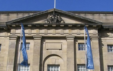 Frontage of High Court of Justiciary
