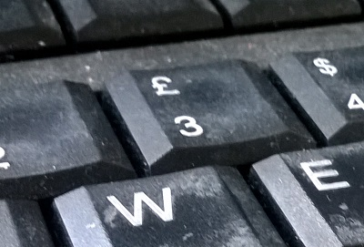 £ sign on keyboard