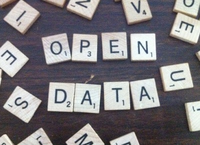 'Open data' in Scrabble pieces