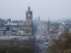 View of Edinburgh