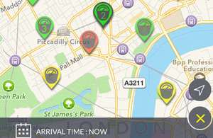 Westminster parking app image