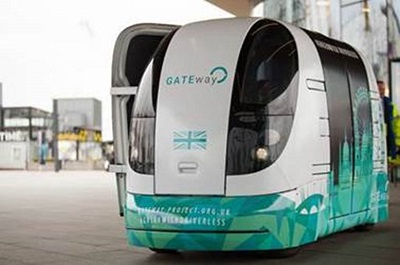 Gateway driverless shuttle vehicle
