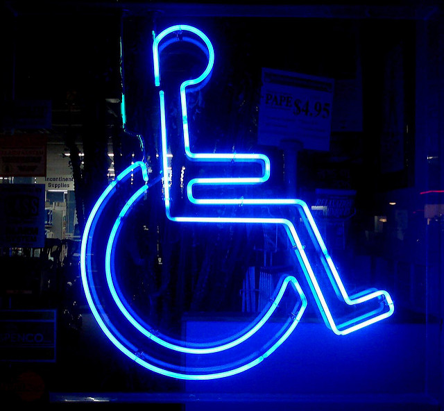 Wheelchair-lit