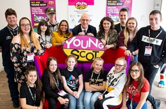 John Swinney at Young Scot project launch.jpg