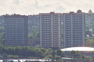 Clyde Grange flats, Leeds by Mtaylor848 CC BY SA 3.0 through Wikipedia.jpg