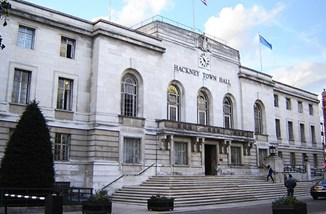 Hackney Town Hall by Tarquin Binary,CC BY-SA 2.5 from Wikimedia Commons.jpg
