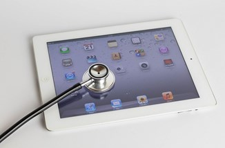 Stethoscope on iPad by Marco Verch CC BY 2.0 through flickr.jpg