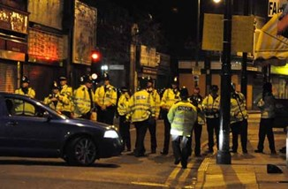 Police blocking road by Andy Thornley CC BY 2.0.jpg