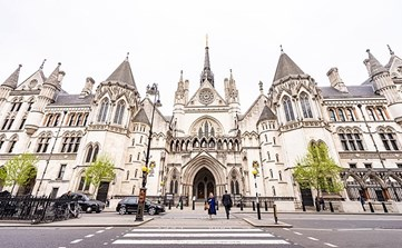 Royal Courts of Justice entrance