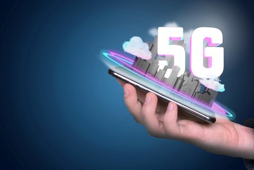 Abstract: '5G' emerging from smartphone