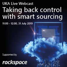 UKA Live webcast branding - taking back control with smart sourcing