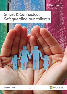 Smart and Connected - Safeguarding our children white paper - front cover