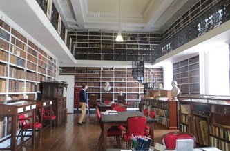 Armagh Library interior
