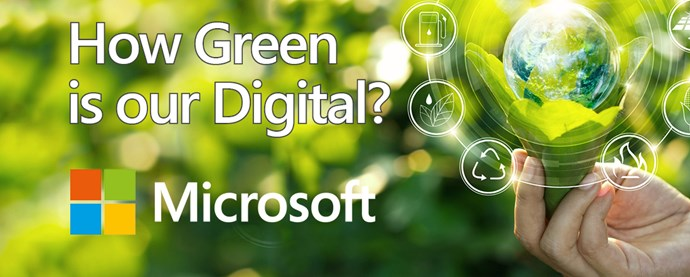 How Green is our Digital?