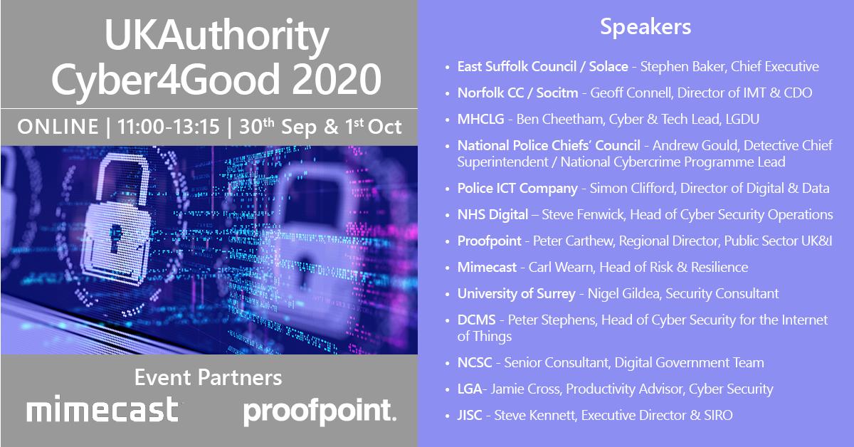 Agenda: Cyber4Good 2020