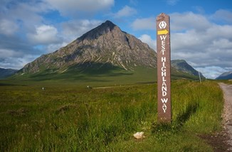 West Highland Way Signpost